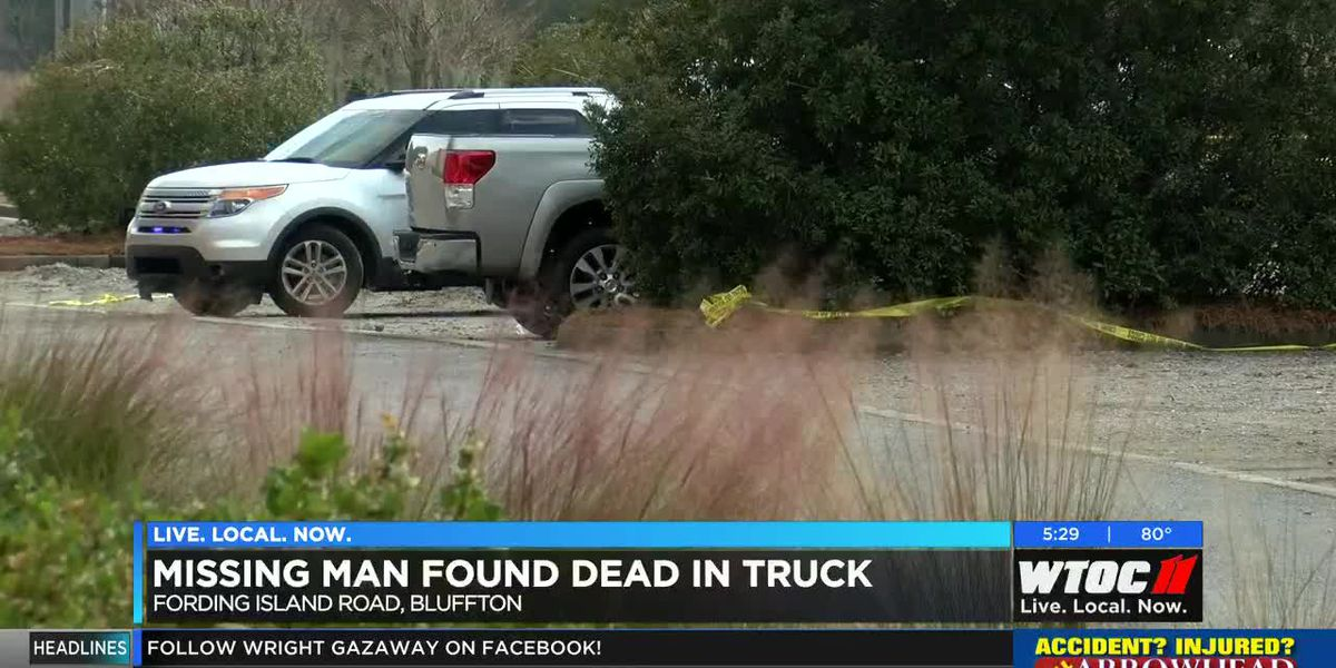 Missing man found dead in truck