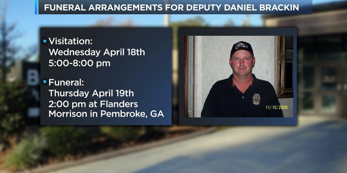 Funeral arrangements set for Bryan Co. deputy killed in crash