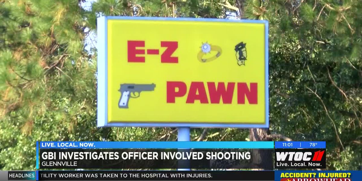 GBI investigating officer-involved shooting at Glennville pawn shop