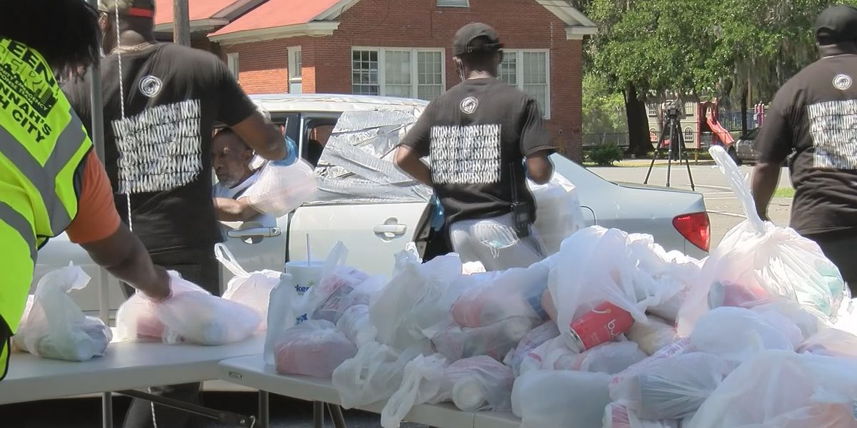 Over 3,000 people receive hot meals at Feed the City event