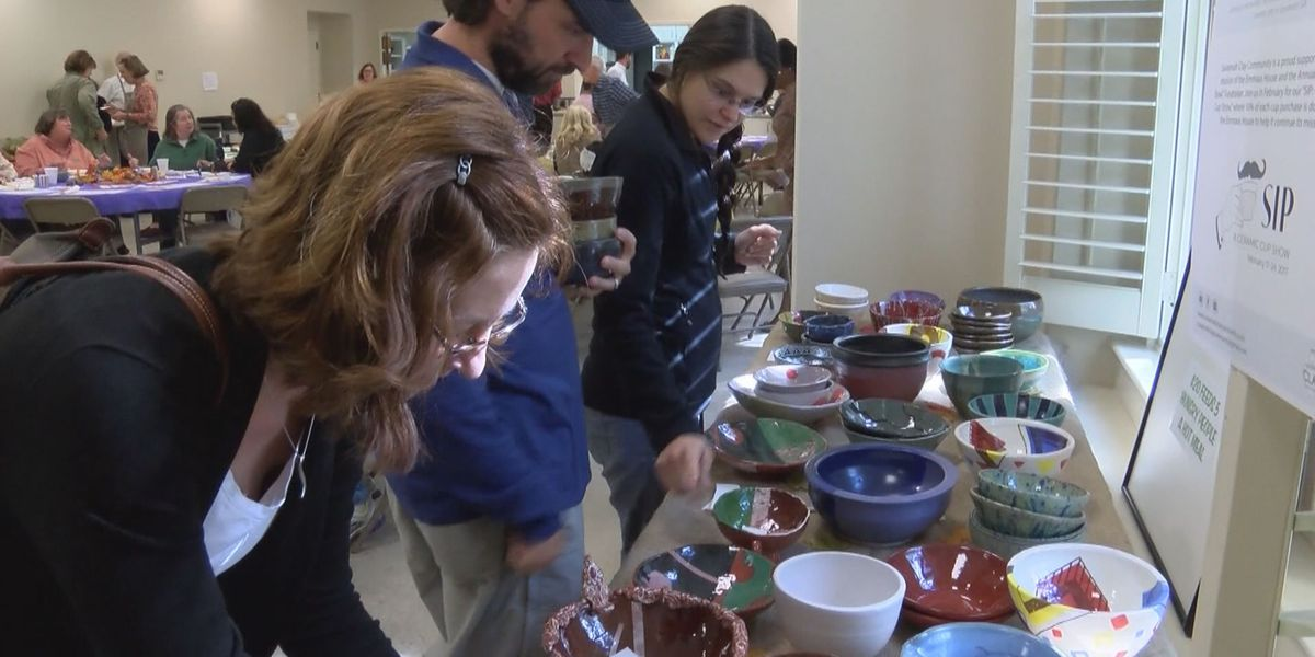 Annual Empty Bowl event to help the Emmaus House