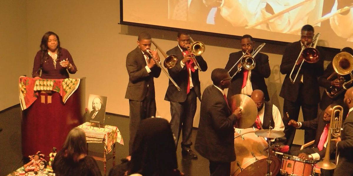 Juneteenth celebration at the Jepson Center for the Arts
