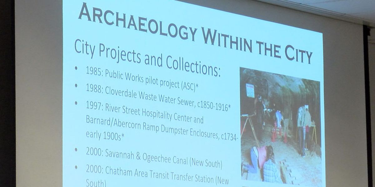City of Savannah holding public hearing on archaeology ordinance