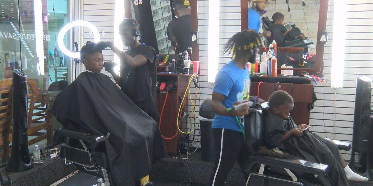 Local businesses hold back to school jam