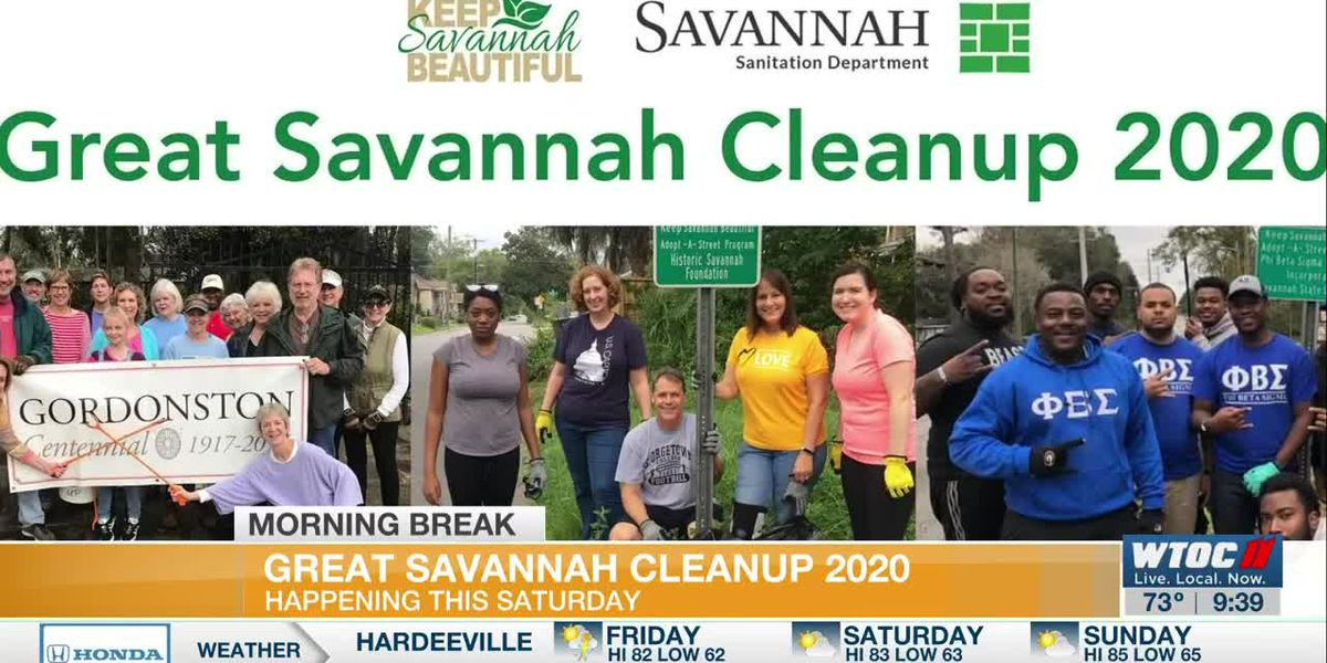 Great Savannah CleanUp 2020 set for this weekend