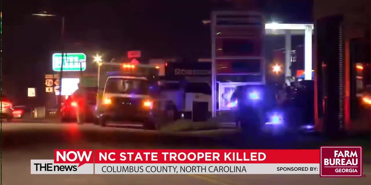 A state trooper in North Carolina was shot and killed early this morning in the line of duty.