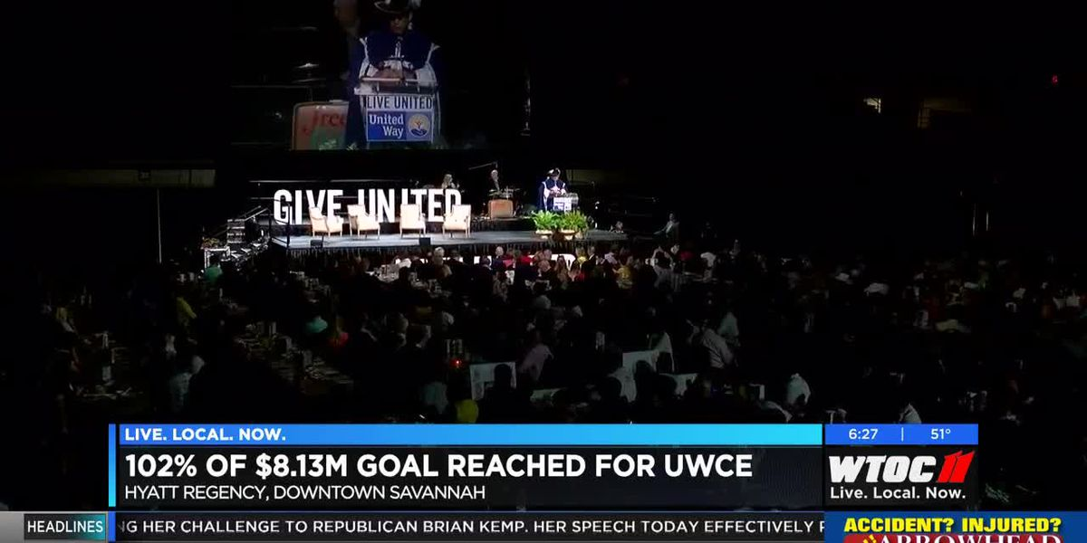 United Way of the Coastal Empire surpasses goal of $8.1 million