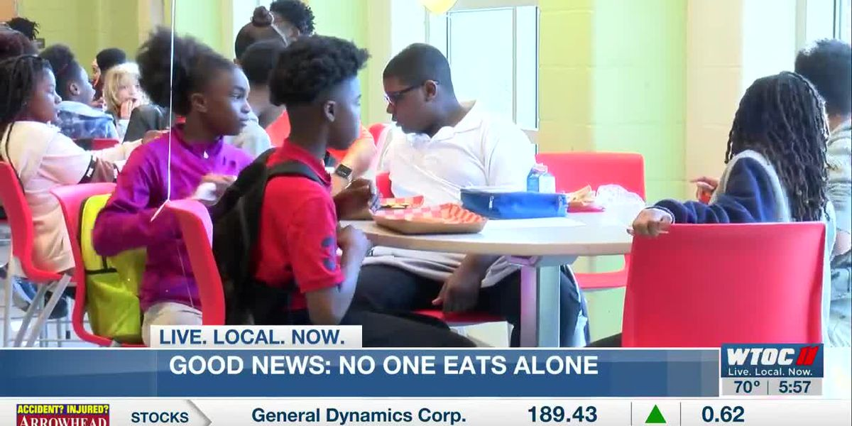 Good News: No One Eats Alone Day