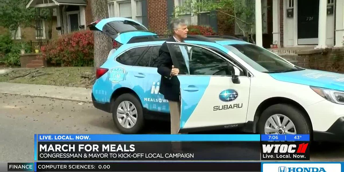 Mayor DeLoach, Congressman Carter to kick-off annual 'March for Meals' campaign