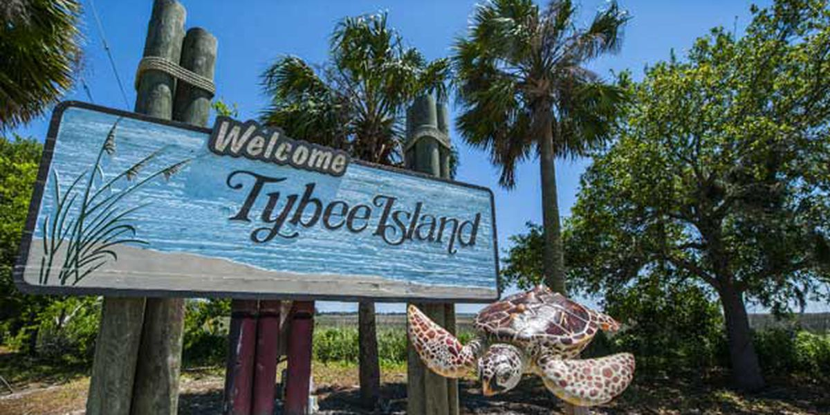 Tybee Island Post Office closed due to damage sustained during Matthew