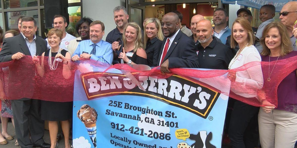 Ben & Jerry's now open on Broughton Street