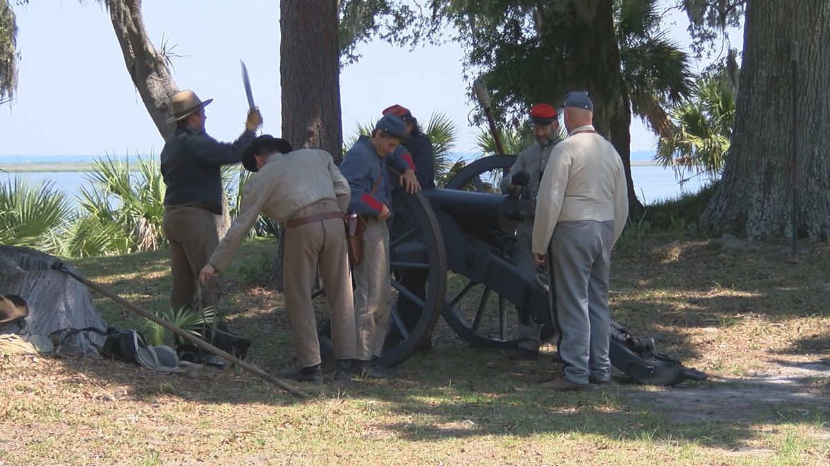 Fort McAllister holds Memorial Day events despite heat
