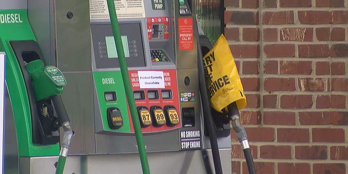 Some gas stations continue to struggle with fuel shortages over the weekend