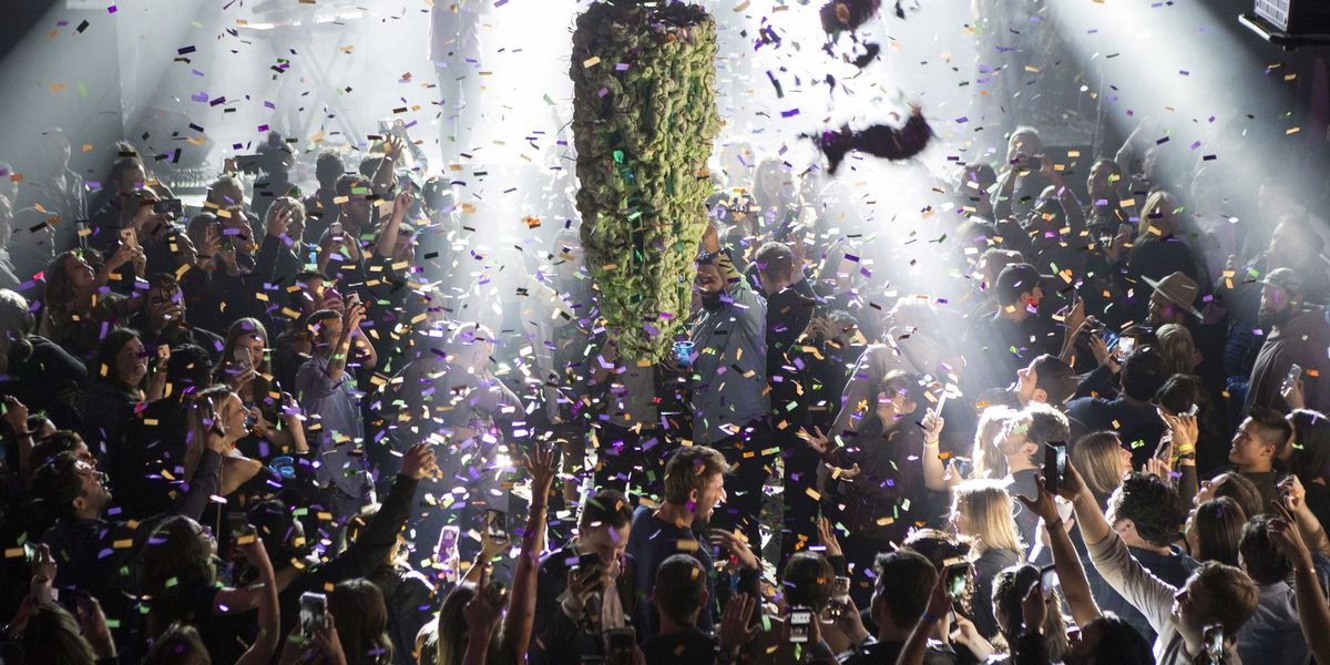 Legal marijuana industry toasts banner year