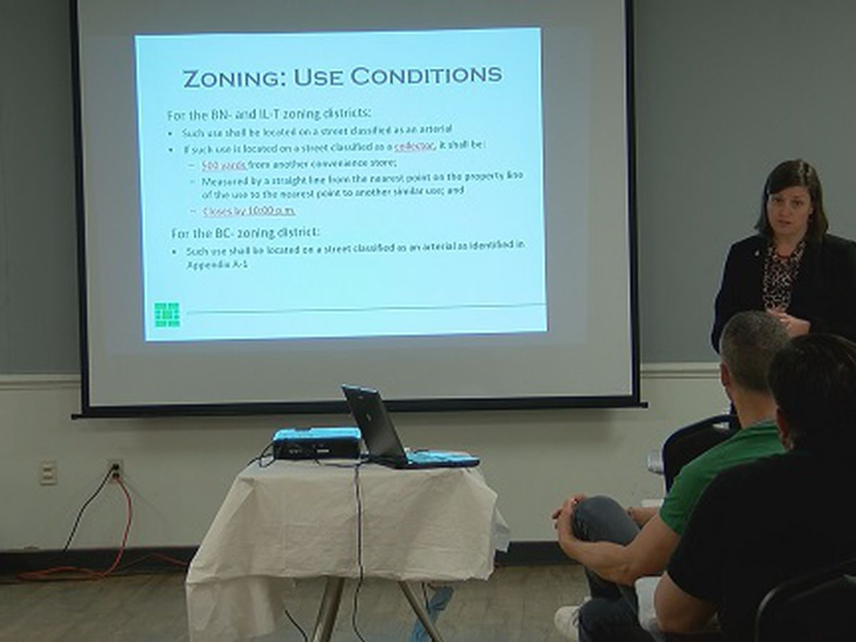 Home, business owners give opinions during alcohol ordinance meeting in Savannah