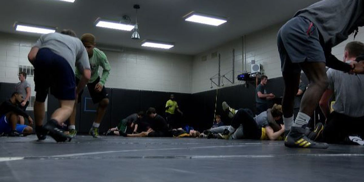 State wrestling champ Richmond Hill gets back to work