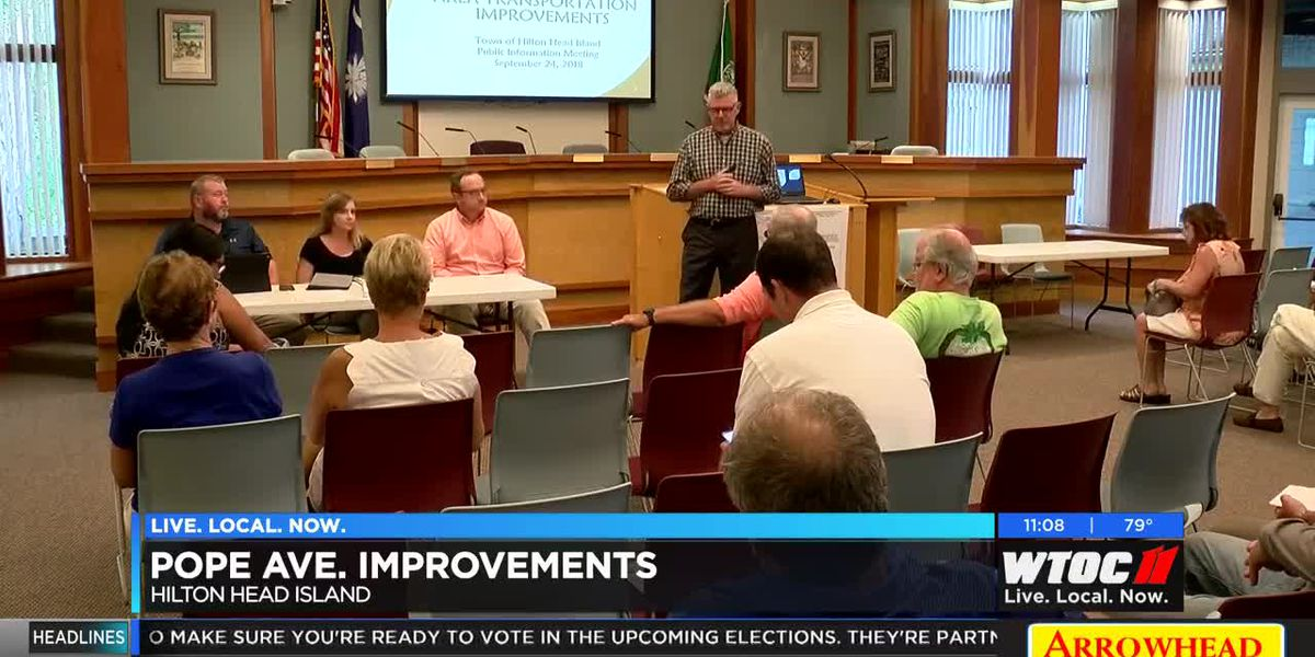 Town of HHI making improvements to Pope Avenue