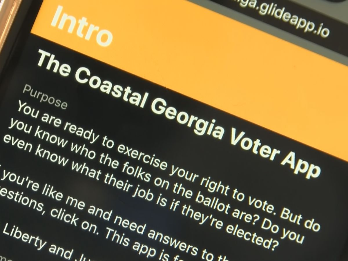 Coastal Empire residents create app aimed at informing voters
