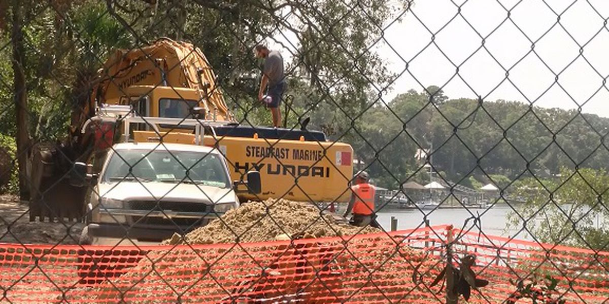 Wright Family Historic Park breaks ground in Bluffton