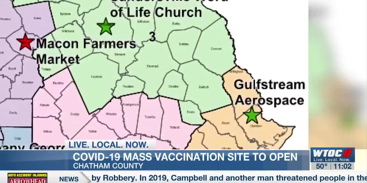 Mass vaccination site to open in Chatham County on March 17