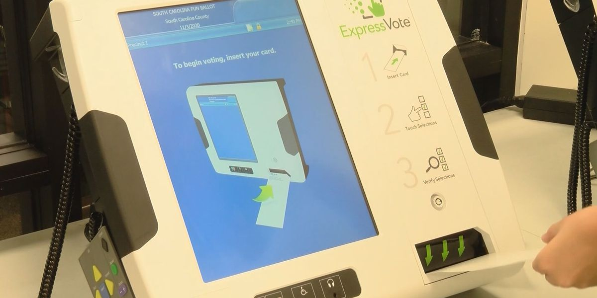 New machines available to Lowcountry voters this week
