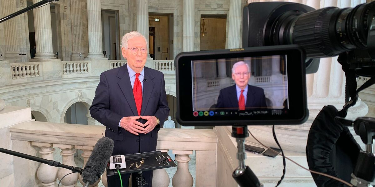 Greta Van Susteren interviews Sen. Majority Leader Mitch McConnell on stimulus negotiations, mail-in voting, Nov. election