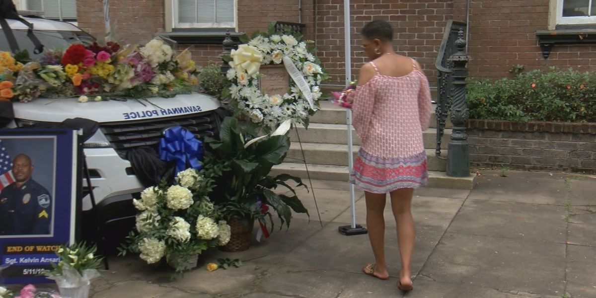 Savannah community honors fallen officer with memorial at police headquarters
