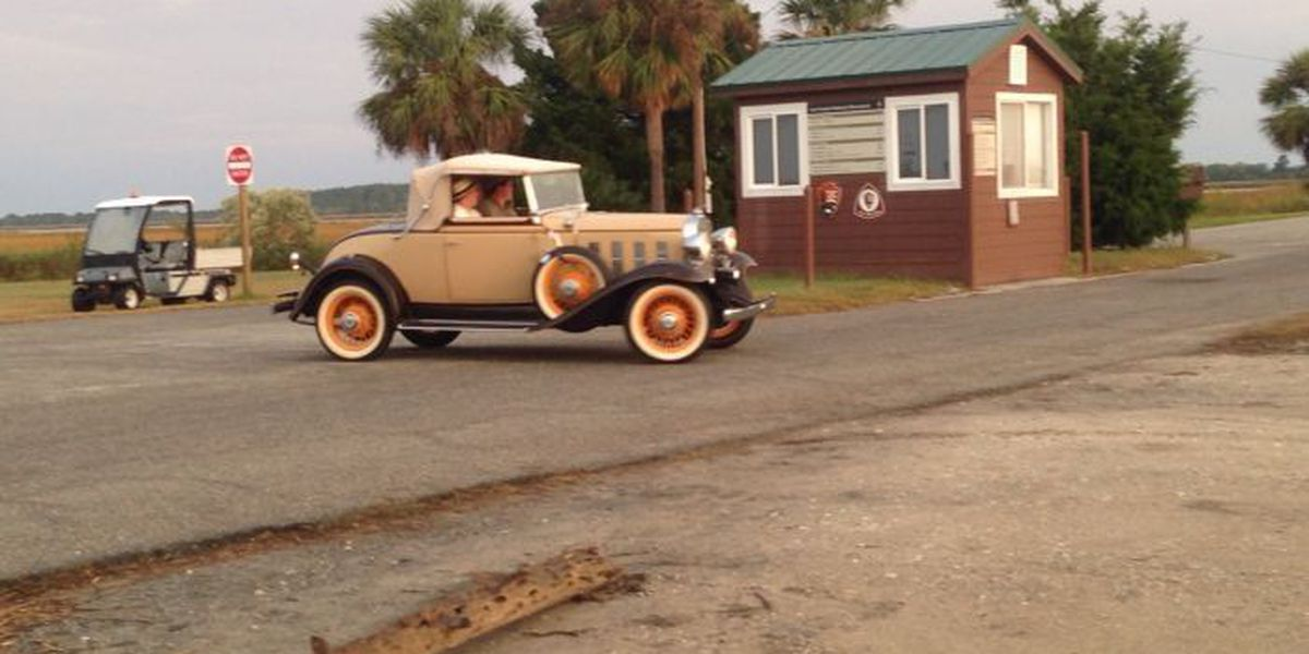 'Live by Night' filming at Fort Pulaski Bridge