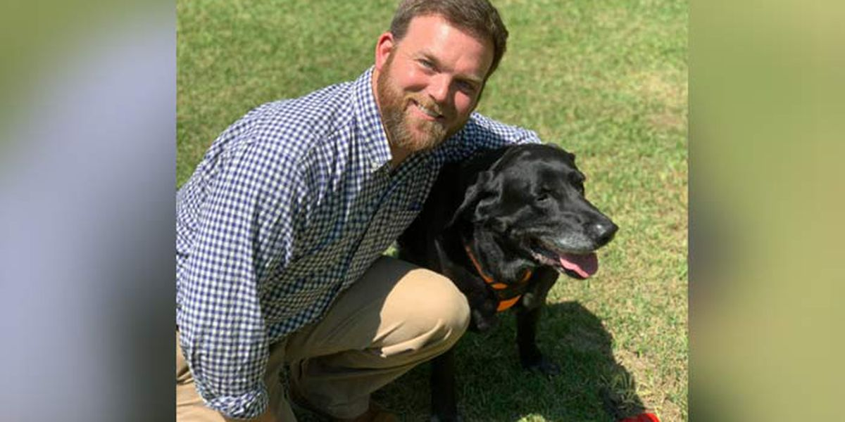 Former Marine reunites with bomb dog 8 years after the pair served together overseas