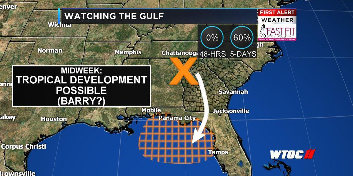 Watching the Gulf: Tropical system could form this week