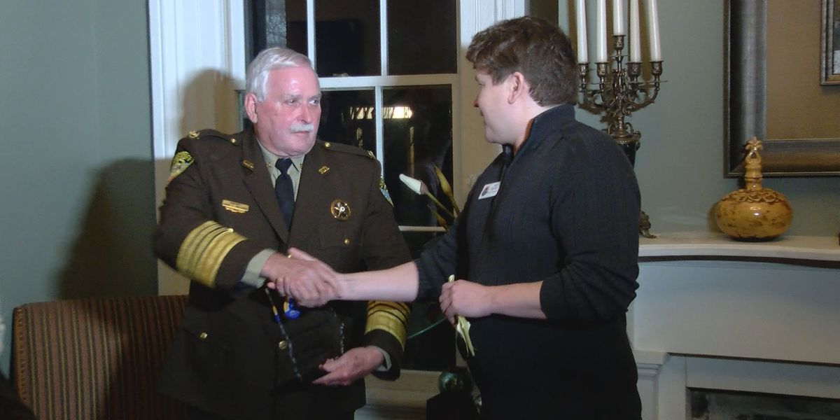 Chatham County Sheriff honored by LGBTQ organization