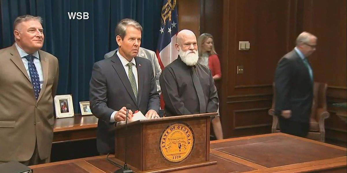 Gov. Kemp holds news conference ahead of any potential impacts from Hurricane Dorian
