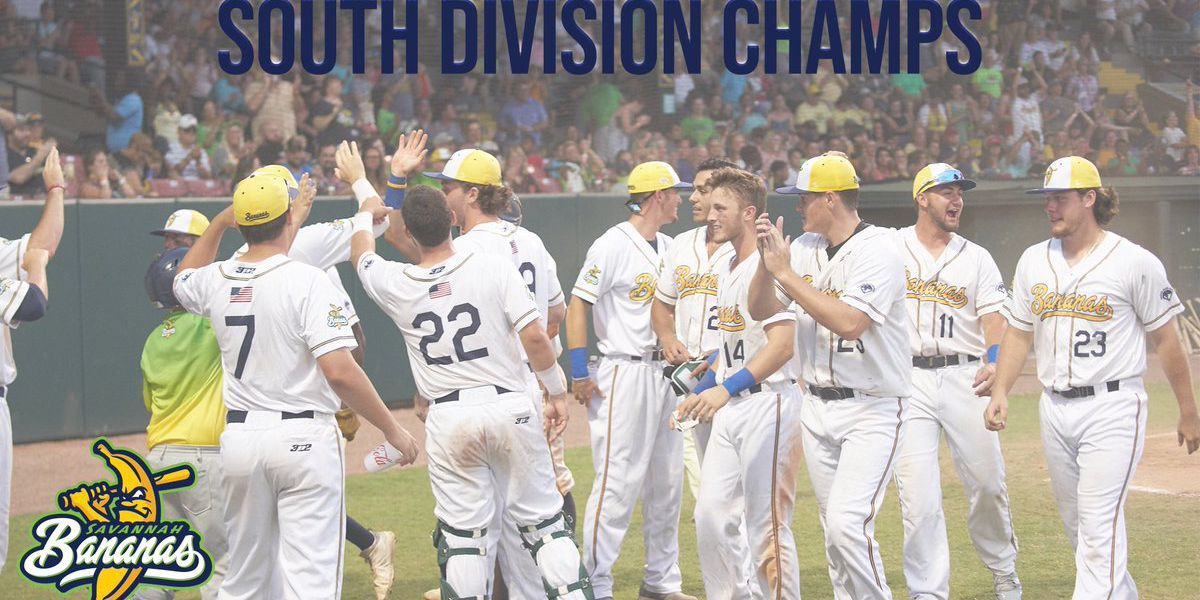Savannah Bananas are South Division Champions