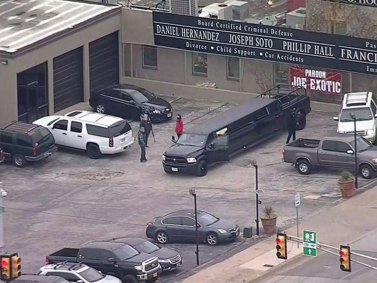 Limousine awaited 'Tiger King' outside Texas prison but Trump didn't pardon him
