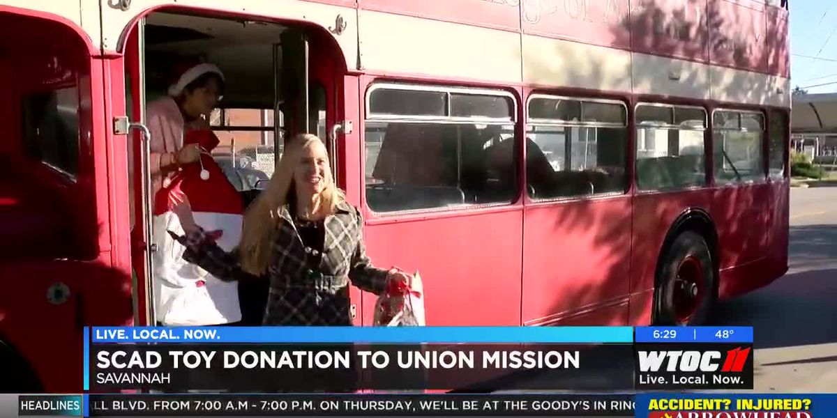 SCAD donates toys to Union Mission