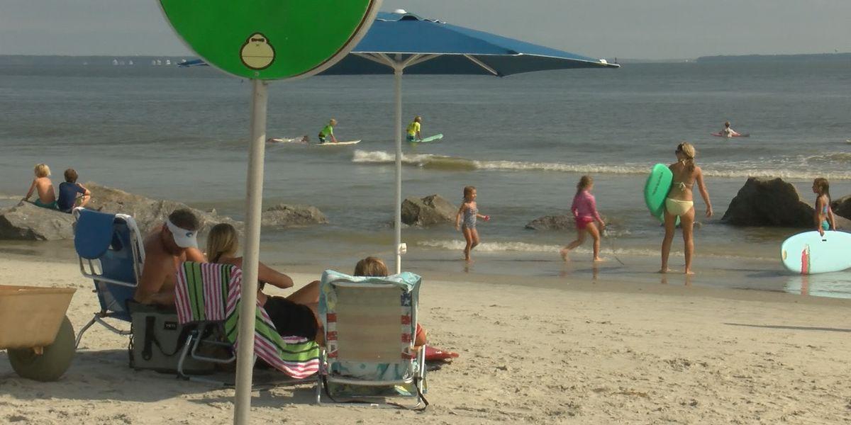 Dozens attend surfing contest on Tybee Island
