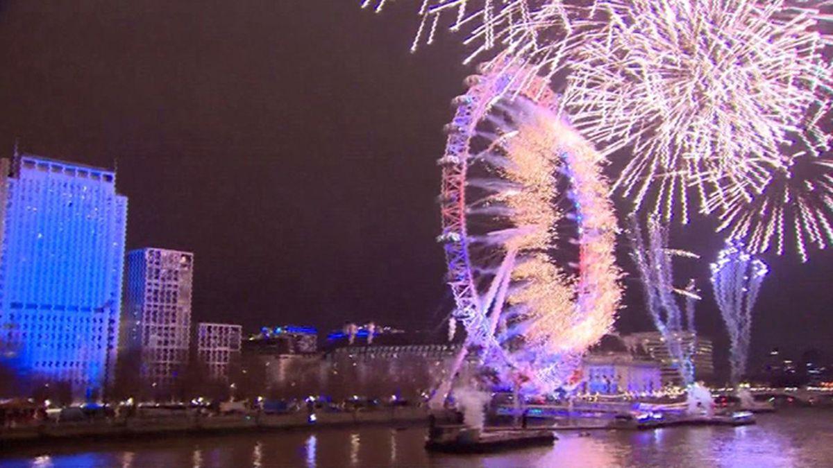2019: New Year's Eve celebrated around the world