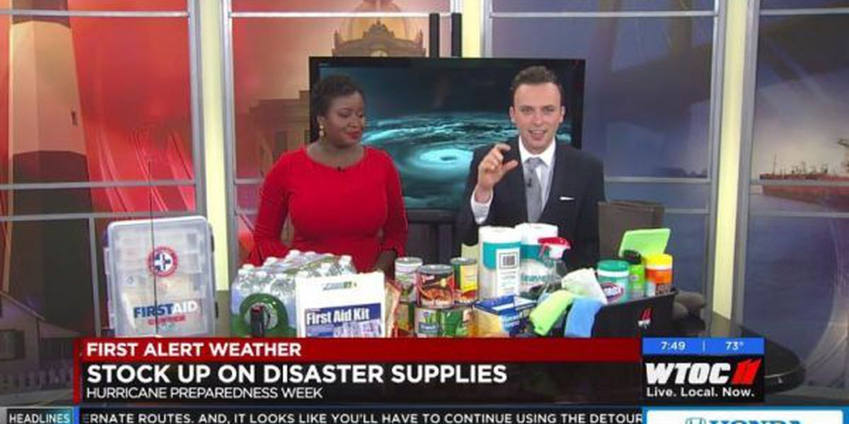 Hurricane Preparedness Week: Supply Kit