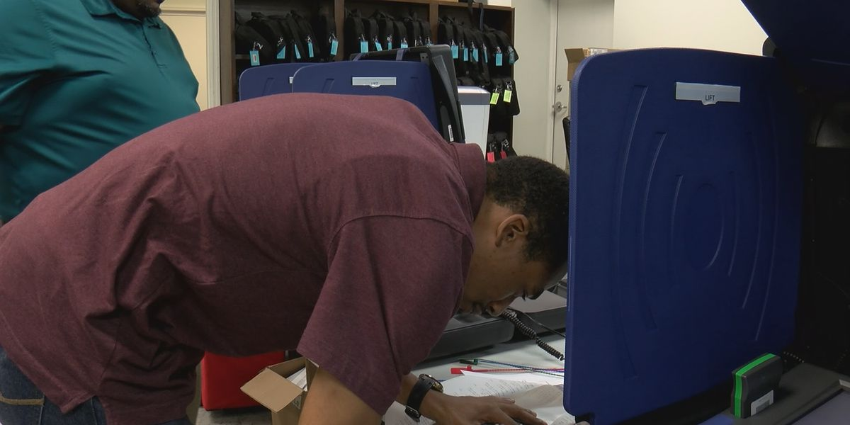 Beaufort County voting machines tested ahead of elections
