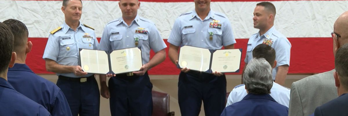 Coast Guard honors crews who rescued Golden Ray crew members