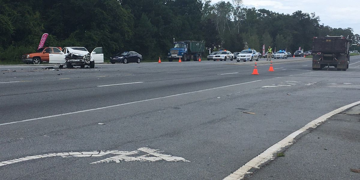 SB Hwy 17 at Cottonvale Road reopens following officer-involved crash