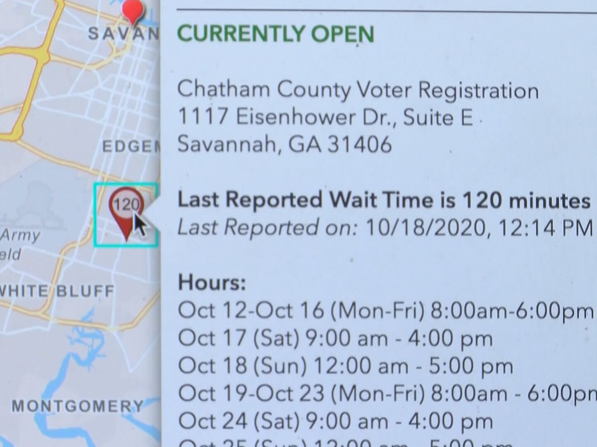 New system helps Chatham Co. voters beat lines