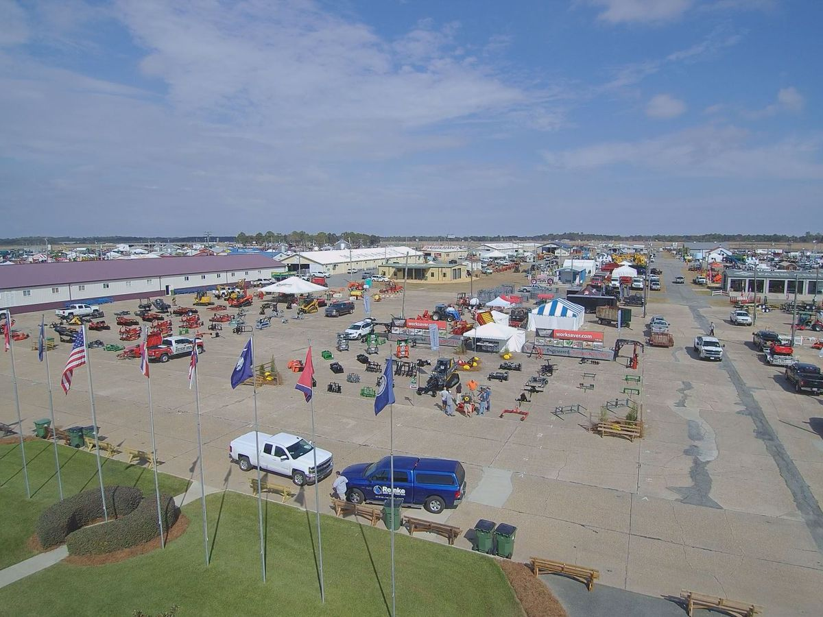 Come on in! Moultrie's 2019 Sunbelt Ag Expo is underway