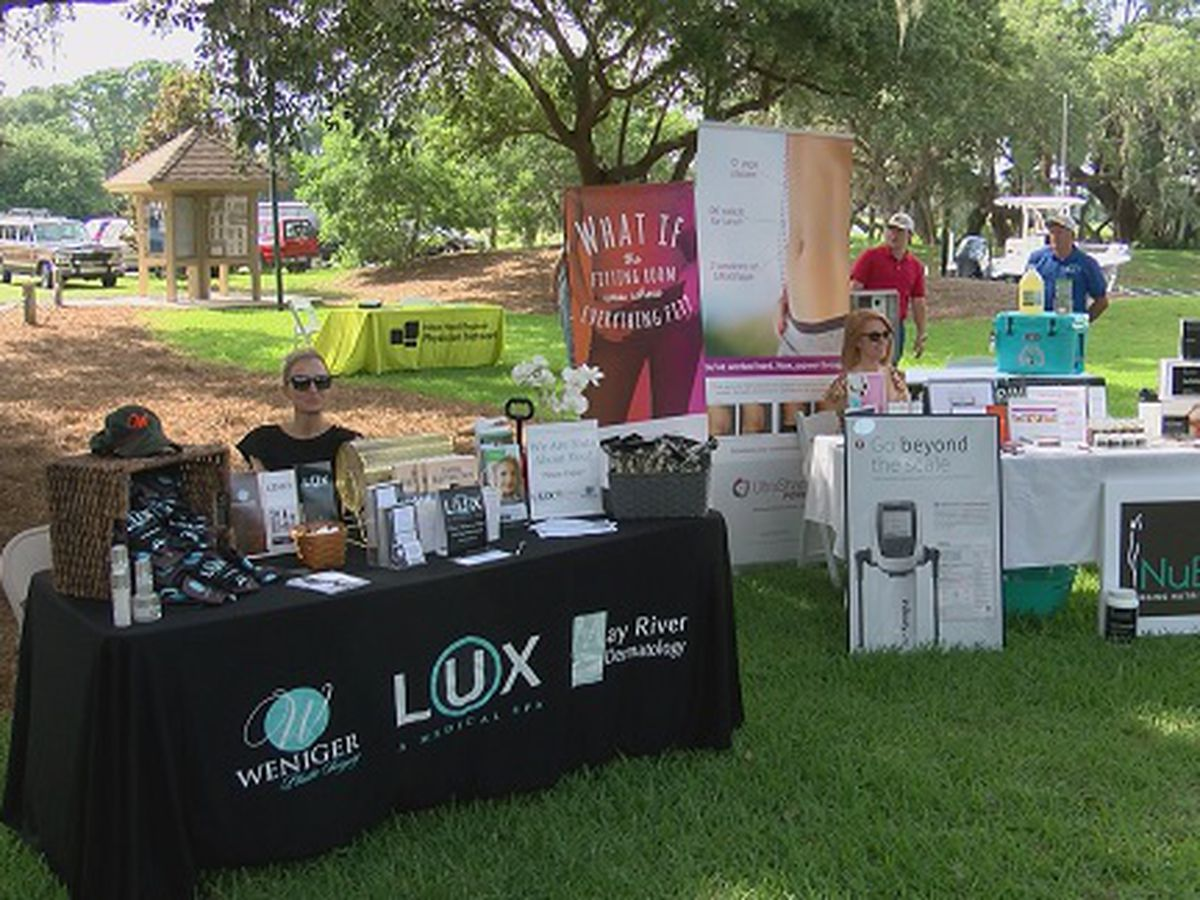 Men's health expo held on Hilton Head Island