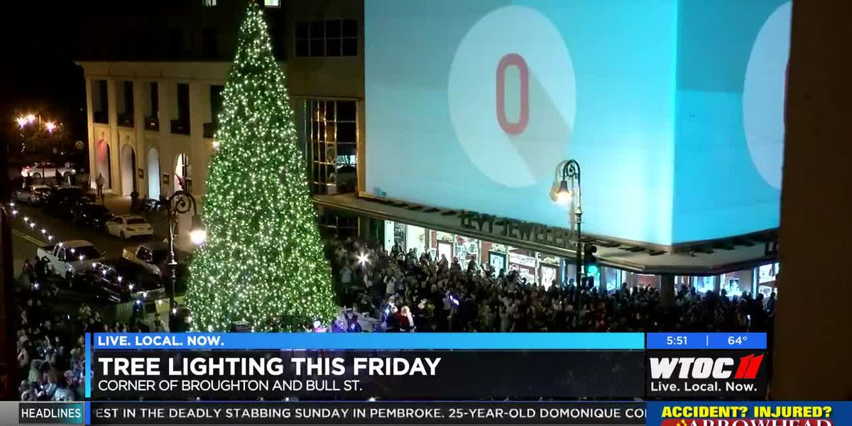 Tree lighting to be held Friday on Broughton Street