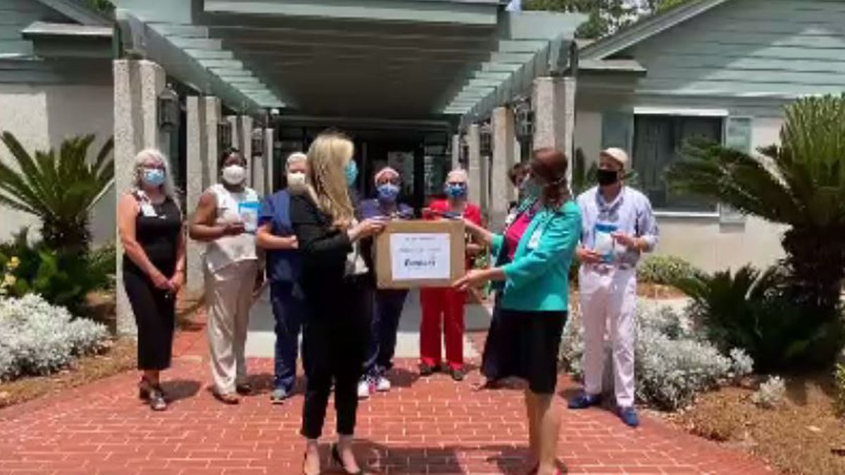 Good News: Parker's donates masks to health care workers