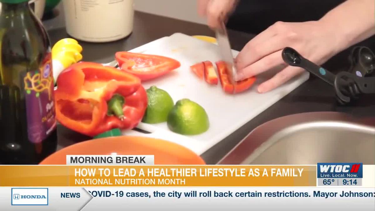Dietitian shares ways the whole family can eat healthier