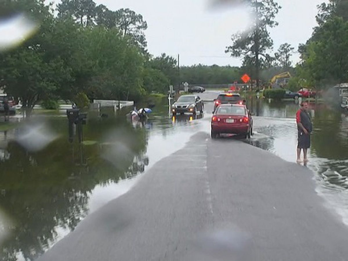 Coastal Health District warns against standing, playing in floodwater