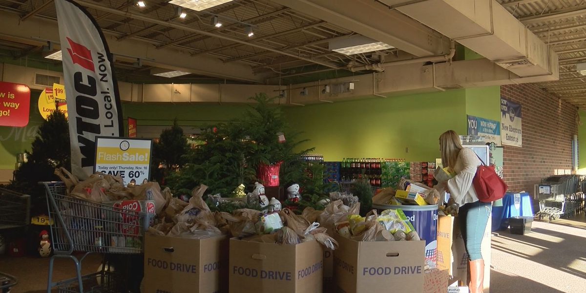 WTOC's annual Day of Giving Food Drive underway