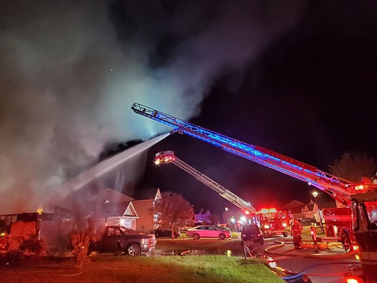 Emergency crews extinguish Port Wentworth weekend fire